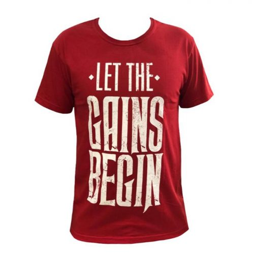 Bodybuilding And Workout Gains T-shirt