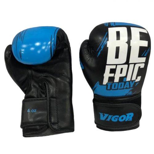 Vigor Be Epic Boxing Gloves- Blue