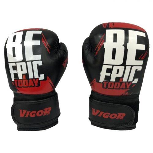 Vigor Be Epic Boxing Gloves- Red