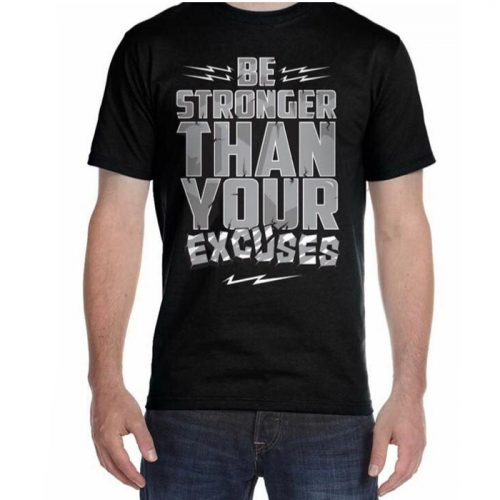 Bodybuilding And Workout Be stronger T-shirt