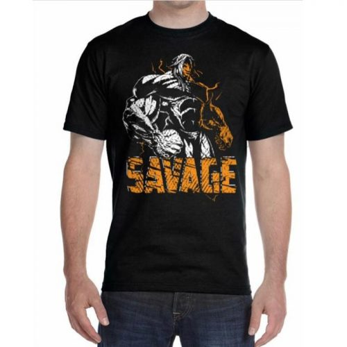 Bodybuilding And Workout Savage T-shirt