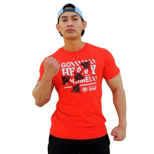 Bodybuilding And Workout Go Heavy T-shirt