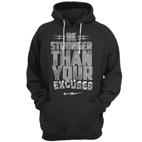Vigor Be Stronger Hoody