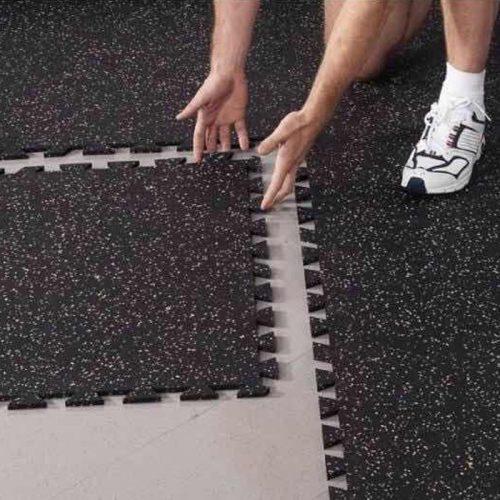 Gym puzzle interlocking flooring