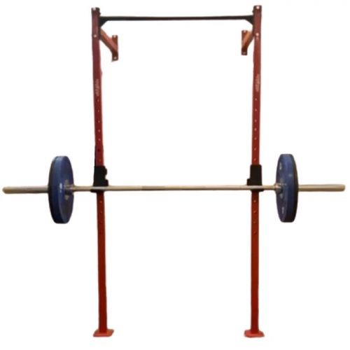 Wall Mounted Folding Squat Rack