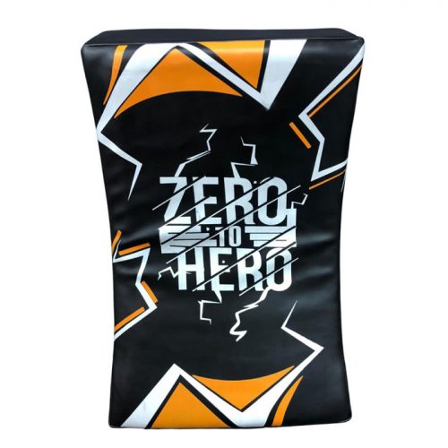 Zero To Hero curved kick pads